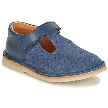 Chaussures Fille Ballerines / babies André MARIN Bleu
