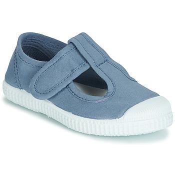 Chaussures Fille Sandales et Nu-pieds André NAVIRE Bleu