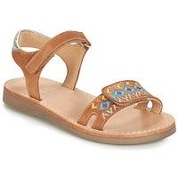 Chaussures Garçon Sandales et Nu-pieds André ALMERIA Camel