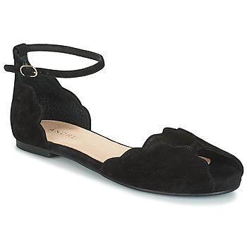 Chaussures Femme Sandales et Nu-pieds André SERINGAT Noir