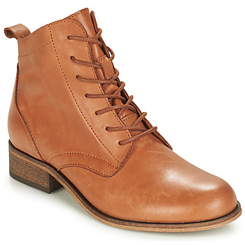 Chaussures Femme Boots André GODILLOT Camel