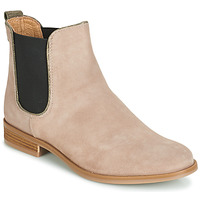 Chaussures Femme Boots André RIDER Beige