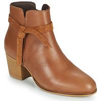 Chaussures Femme Bottines André ROMANE Cognac