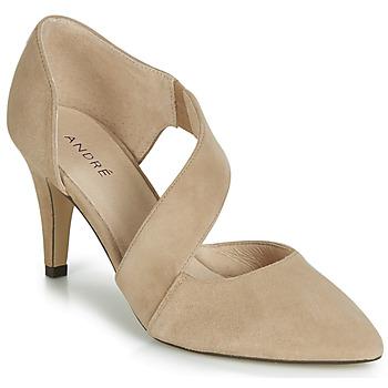 Chaussures Femme Escarpins André SOIE Beige