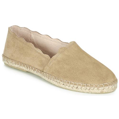 Chaussures Femme Espadrilles André RHUM Taupe