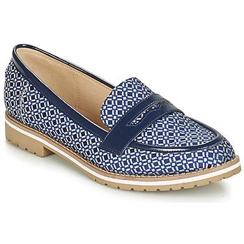 Chaussures Femme Mocassins André PORTLAND Bleu