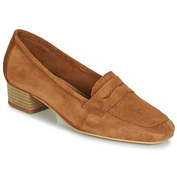 Chaussures Femme Mocassins André SENLIS Camel