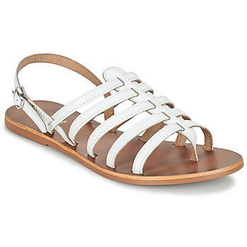 Chaussures Femme Sandales et Nu-pieds André ROSIANE Blanc