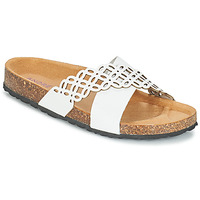 Chaussures Femme Mules André ROULADE Blanc