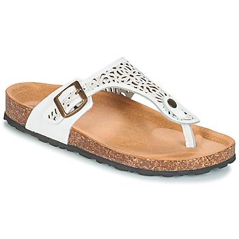 Chaussures Femme Sandales et Nu-pieds André RILA Blanc