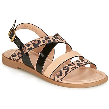 b0f6b3f031103 Chaussures Femme Sandales et Nu-pieds André RADJAH Léopard