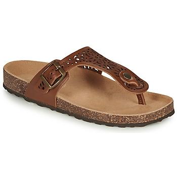 Chaussures Femme Sandales et Nu-pieds André RILA Camel