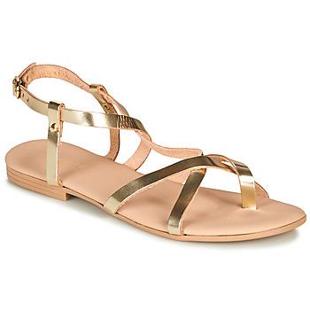 8ab77656c36a7 Chaussures Femme Sandales et Nu-pieds André RAFFOLE Doré