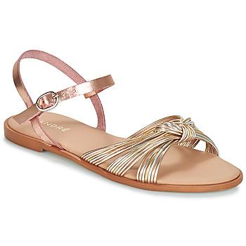 Chaussures Femme Malles, coffres de rangements André SOFIA Doré