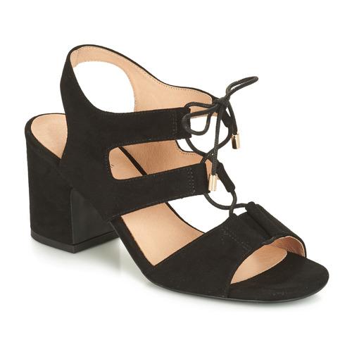 Sandales pieds Nu Noir Et Starlet André Femme WH29YeIEDb