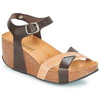 Chaussures Femme Sandales et Nu-pieds André HERA Marron