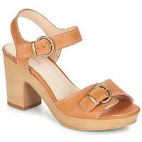 Chaussures Femme Sandales et Nu-pieds André ROULOTTE Camel