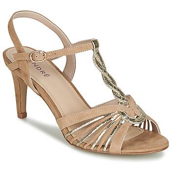 Chaussures Femme Sandales et Nu-pieds André CALECHE Beige