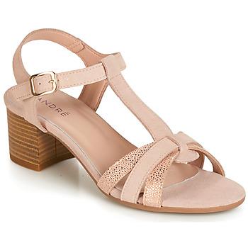 Chaussures Femme Sandales et Nu-pieds André CAROLA Nude