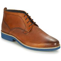 Chaussures Homme Boots André CLAPOTIS Cognac