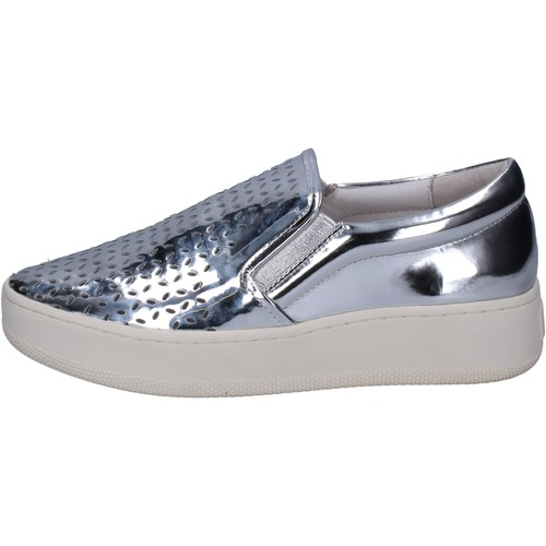 Chaussures Femme Slip ons Uma Parker slip on argent cuir BT564 argent