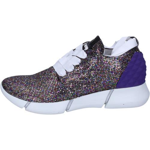 Chaussures Femme Baskets basses Elena Iachi sneakers multicolor glitter BT587 multicolor