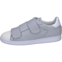 Chaussures Homme Baskets basses Brimarts sneakers gris cuir BT591 gris
