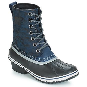 Chaussures Femme Bottes de neige Sorel SLIMPACK™ 1964 Bleu / Noir