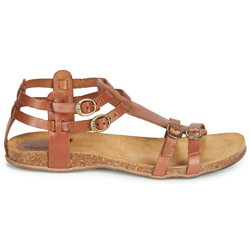 Et Sandales Ana Femme pieds Marron Nu Kickers VpqMSUz