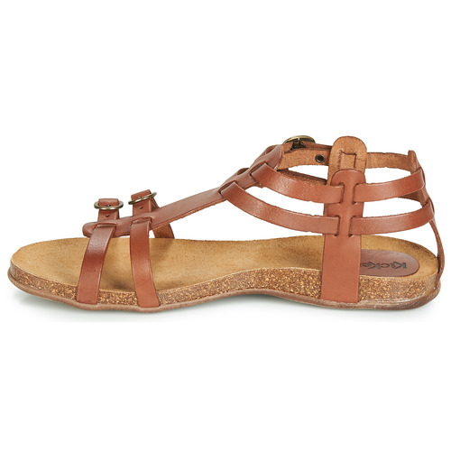 Femme Et Marron Kickers Sandales Nu pieds Ana vYfy76gb