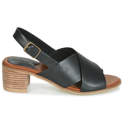 Et Sandales Noir Victoriane Nu Femme Kickers pieds f6y7bg