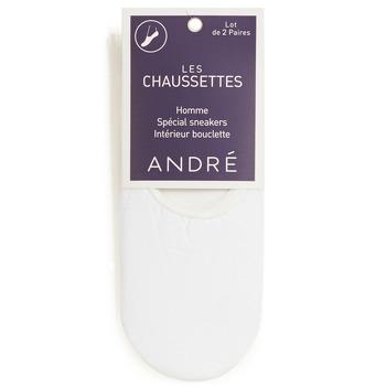 Accessoires textile Homme Chaussettes André TERRY Blanc
