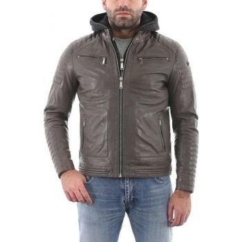 Vêtements Homme Vestes en cuir / synthétiques Redskins Byron Elephant Gris