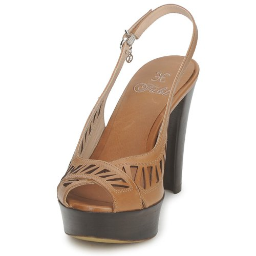 Caleche Fabi Sandales Et Nu-pieds Femme Marron RH1rTai6