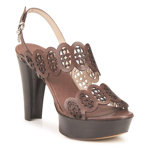 Chaussures Femme Sandales et Nu-pieds Fabi PANAMA Marron