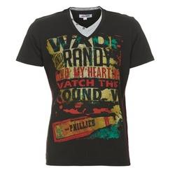 Vêtements Homme T-shirts manches courtes Yurban CLIFF Noir