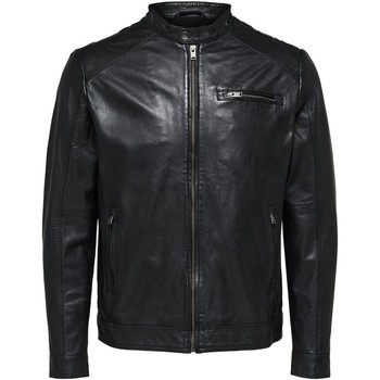 Blouson Selected 16067129 classic leather