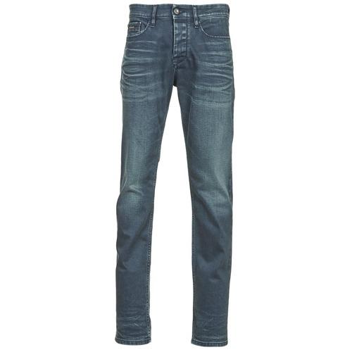 Jeans Calvin Klein Jeans SLIM STRAIGHT Bleu foncé 350x350