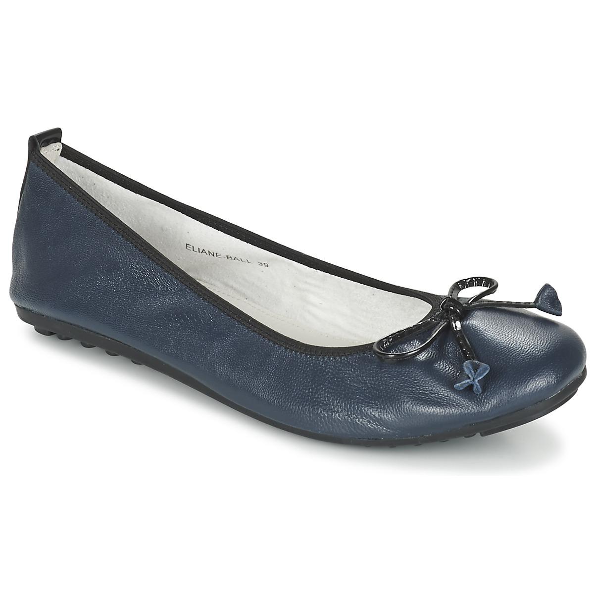cc0519d158a Chaussures Femme Ballerines   babies Mac Douglas ELIANE Marine