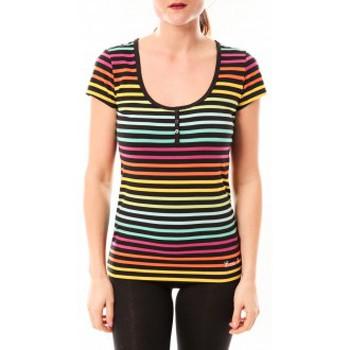 Vêtements Femme T-shirts & Polos Little Marcel Tee-shirt Tatoum Multi 315FN Noir Noir