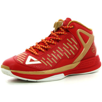 Chaussures Homme Basketball Peak TP9-2 Red/Gold