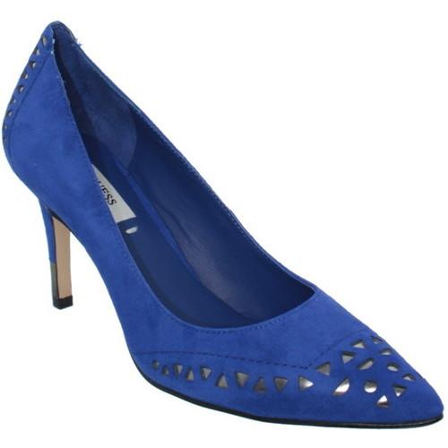 Chaussures Femme Escarpins Guess Escarpins  Elsie ref_guess36433-blue Blue