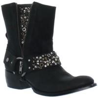 Chaussures Femme Bottines Sendra boots Bottines  Oxydo Negro ref_sen35666-noir noir