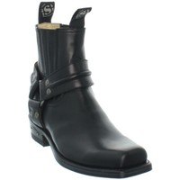 Chaussures Homme Boots Sendra boots Low Boots  en cuir ref_sen35242-noir Noir