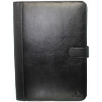 Sacs Homme Porte-Documents / Serviettes Hexagona Conférencier  en cuir ref 36371 noir Noir