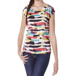Vêtements Femme T-shirts manches courtes Little Marcel Tee-shirt Tista E15FTSS0220 Blanc Blanc