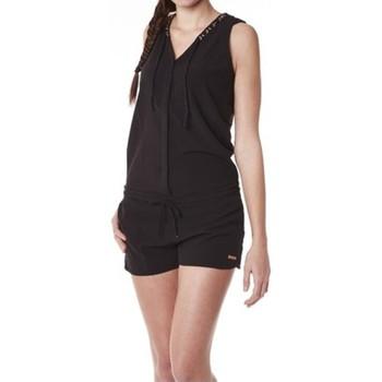 Vêtements Femme Combinaisons / Salopettes Little Marcel Combishort Cosbi E15WSHO0203 Noir Noir
