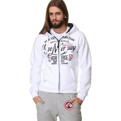 Vêtements Homme Sweats Geographical Norway Sweat Géographical norway  Gravity Blanc Blanc