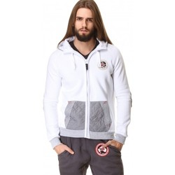 Vêtements Homme Sweats Geographical Norway Sweat Géographical norway  Glovin Blanc Blanc