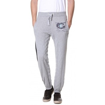 Vêtements Homme Pantalons de survêtement Geographical Norway Survêtement / Jogging Géographical norway  Moustache Gris Clair Gris